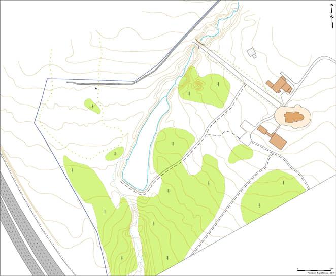 План расположения захоронений в «Коммунарке» в 2019 году