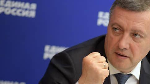 Игорь Кобзев разоружился перед списком  / Беспартийный губернатор узнал, что возглавит иркутских единороссов на думских выборах