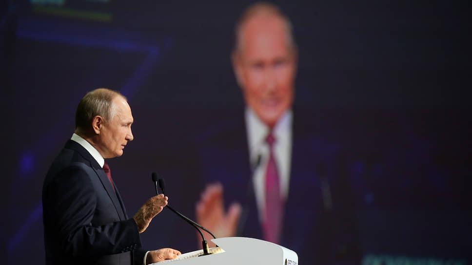 Владимир Путин сдал сессию