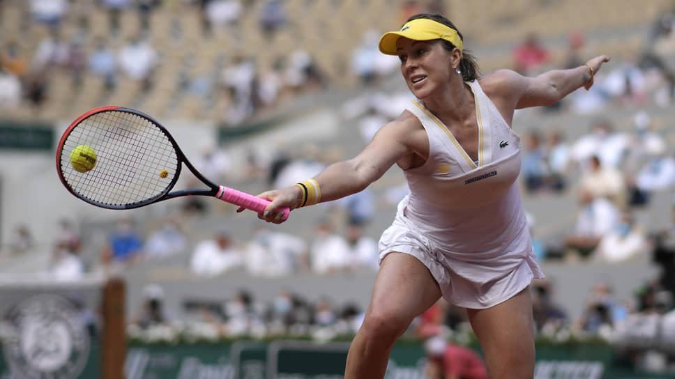 Как Анастасия Павлюченкова пробилась в четверку лучших на Roland Garros