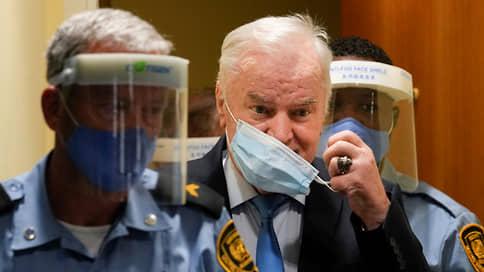 Сербский генерал пошел на пожизненное // Ратко Младич получил не подлежащий обжалованию срок