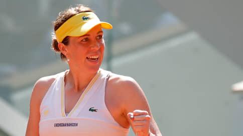 «Для меня выход в финал — не сюрприз»  / Анастасия Павлюченкова о своем выступлении на Roland Garros