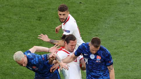 Жизнь прожить  не Польшу перейти // Сборная Словакии в первом матче чемпионата Европы разгромила поляков
