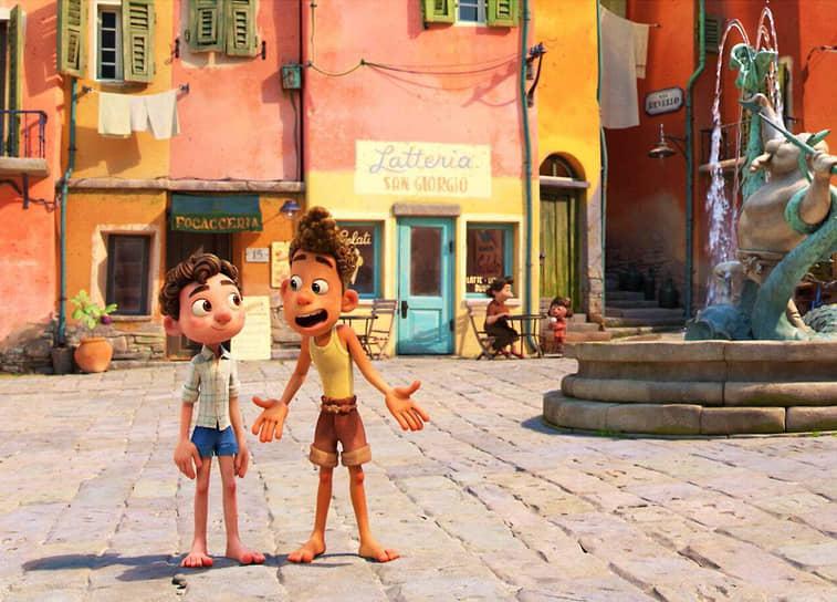 Поучительные приключения мультипликационных героев помещены в узнаваемую итальянскую атмосферу