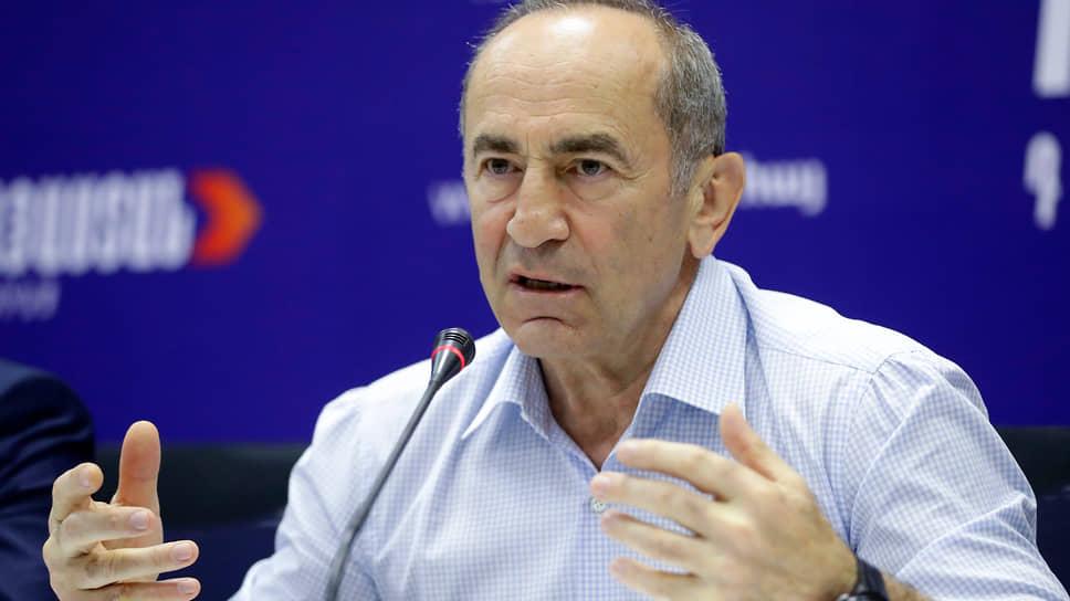 Лидер оппозиционного блока «Армения» Роберт Кочарян