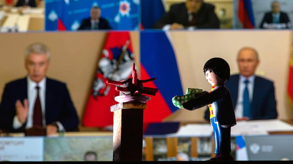 Шприцкриг / Члены правительства готовы были ревакцинироваться прямо на встрече с президентом