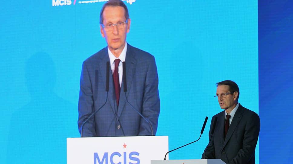 Директор Службы внешней разведки России Сергей Нарышкин уверен, что в США и ряде других стран Запада «налицо почти все признаки тоталитарной диктатуры»