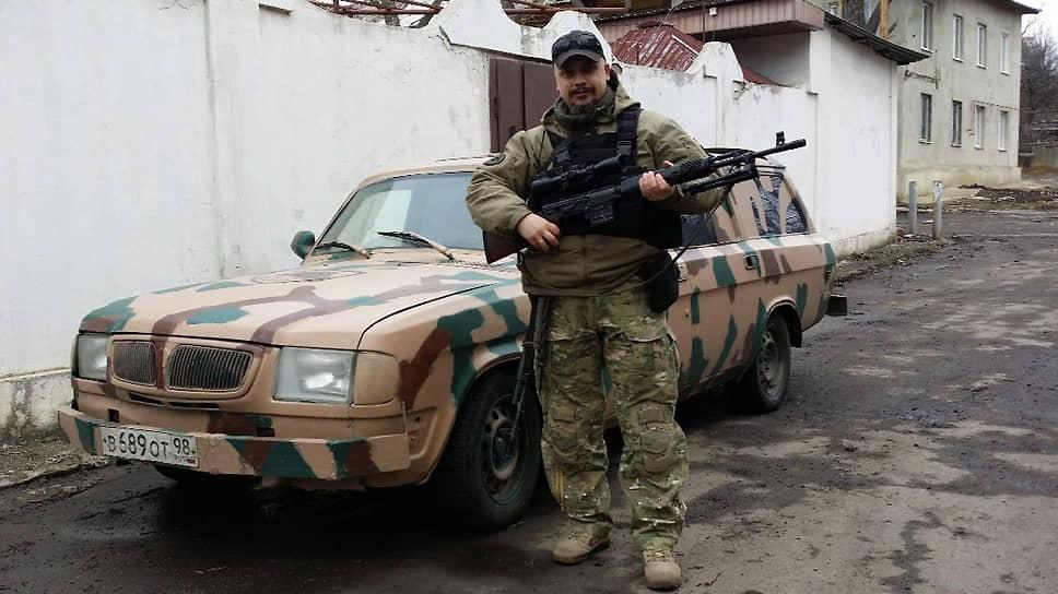 Активист военно-патриотической организации «Единые народные общинные товарищества» Владимир Морозов
