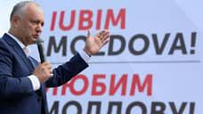 Молдавия впадает в западенство