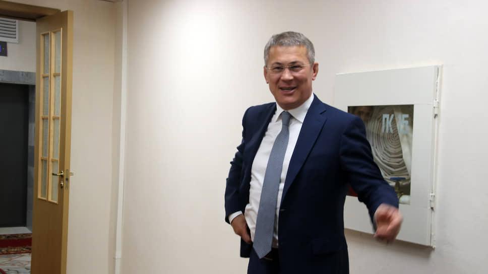 Глава Башкирии Радий Хабиров