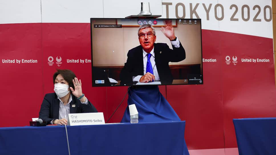 Президент МОК Томас Бах полностью поддержал решение оргкомитета Игр-2020, о котором объявила его глава Сэйко Хасимото, запретить зрителям посещать соревнования