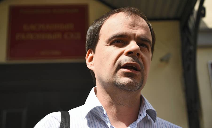 Муниципальный депутат района Северное Измайлово Дмитрий Барановский