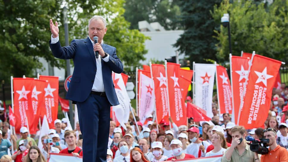 Бывший президент Молдавии Игорь Додон
