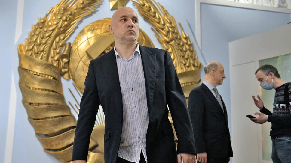 Сопредседатель СРЗП Захар Прилепин