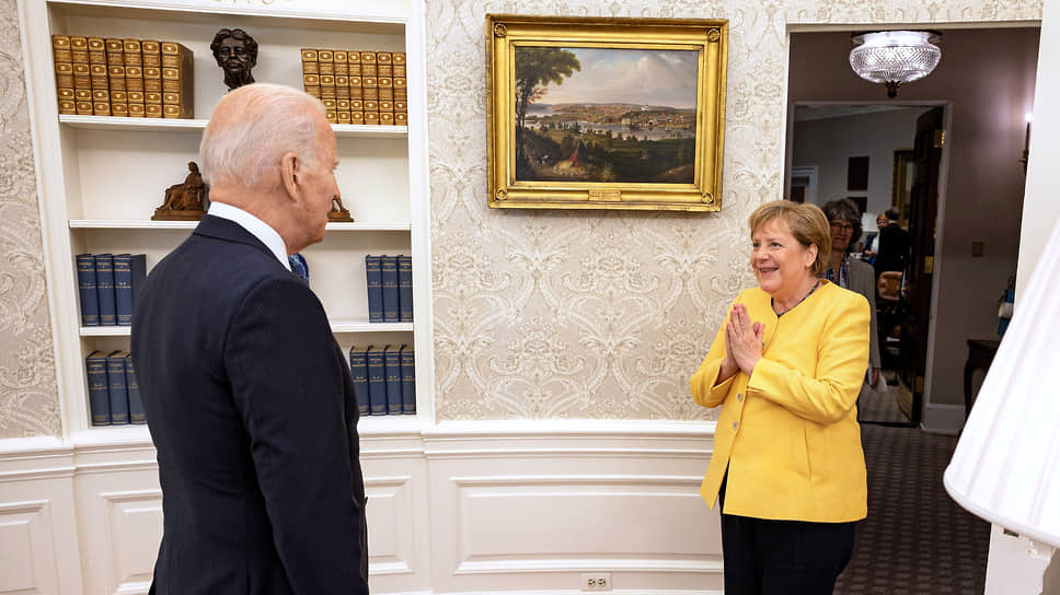 Канцлер Германии Ангела Меркель и президент США Джо Байден договорились о том, на каких условиях будет достроен «Северный поток-2»