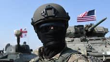 На холмах Грузии лежит ночное НАТО  / Альянс проводит на Кавказе многонациональные учения