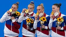 От бревна бревна не ищут  / Российские гимнастки завоевали золото в командном многоборье
