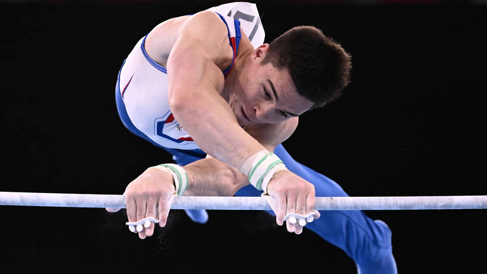 Никита Нагорный был фаворитом соревнований в личном многоборье, но сумел завоевать лишь бронзовую медаль