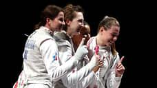 Укольные девчонки  / Российские рапиристки завоевали золото командного турнира