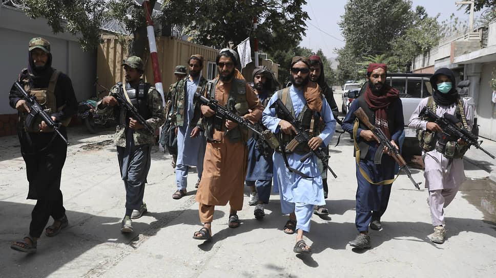 И пошли они, солнцем талибы