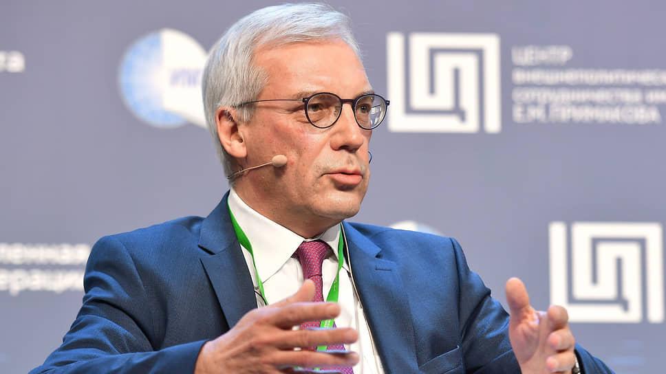 Замглавы МИД РФ Александр Грушко об отношениях с европейскими структурами и НАТО