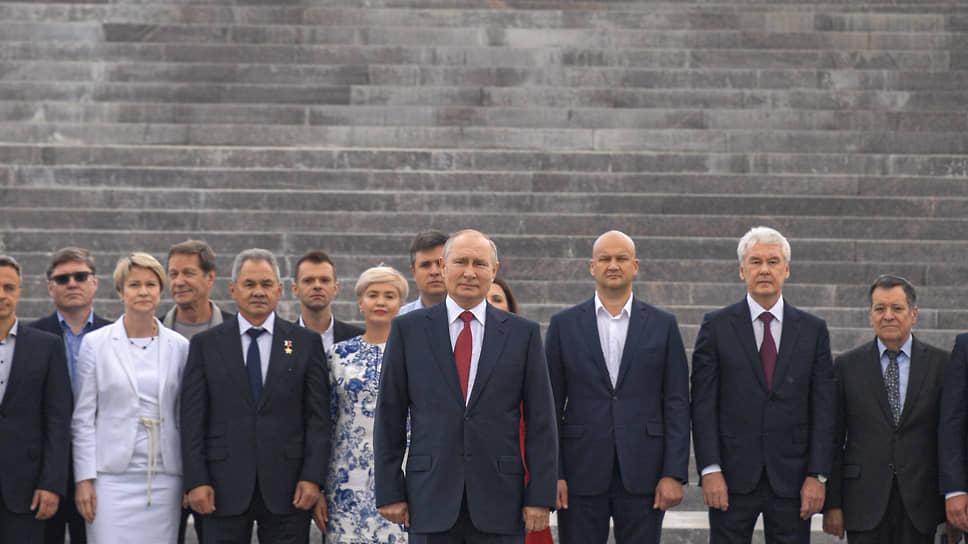 Владимир Путин, актив «Единой России» и «Матч Поинт»