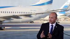 Новый премьер Израиля начал со старого