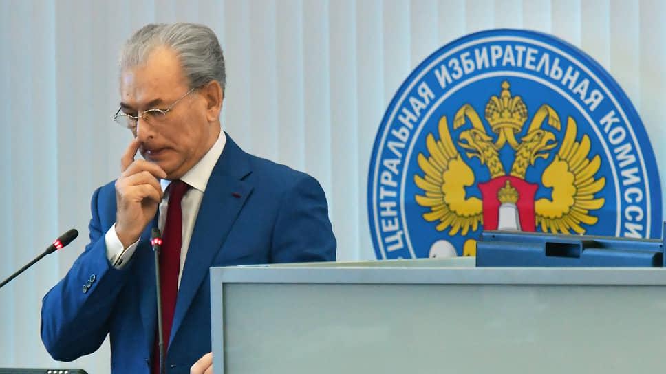 Заместитель председателя ЦИК России Николай Булаев