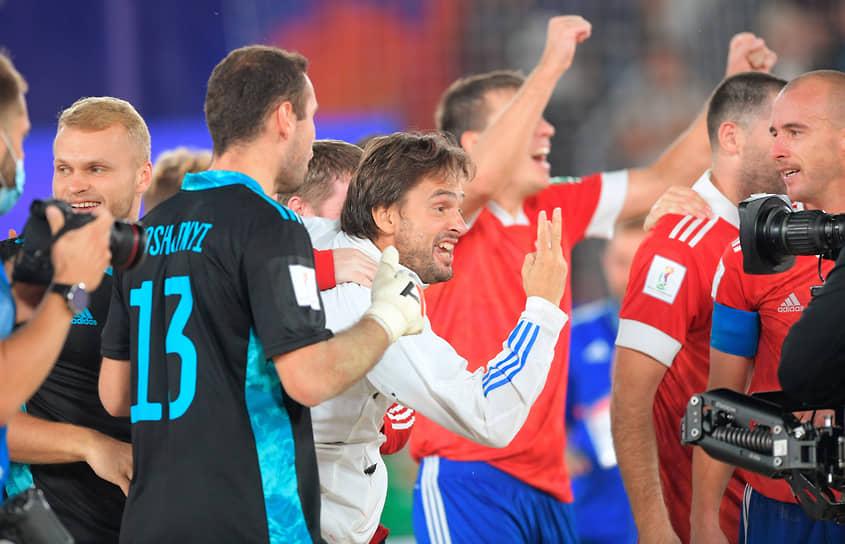 В финальном матче подопечные Михаила Лихачева нанесли поражение команде Японии со счетом 5:2