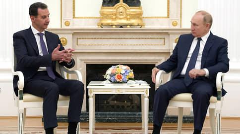 В обстановке повышенной сирийскости  / О визите Башара Асада в Москву стало известно уже после его отлета на родину