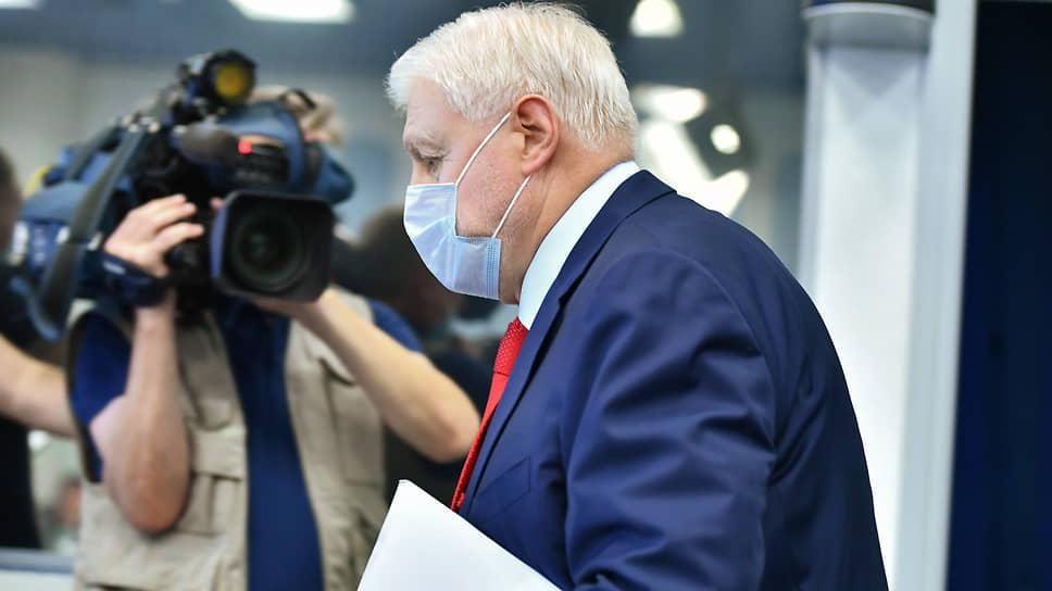 Сергей Миронов заверил своих избирателей, что наблюдатели от СРЗП «не дадут украсть ни один голос», отданный ими за его партию