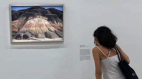 Женщина в цвету // Джорджия О`Кифф в центре Помпиду