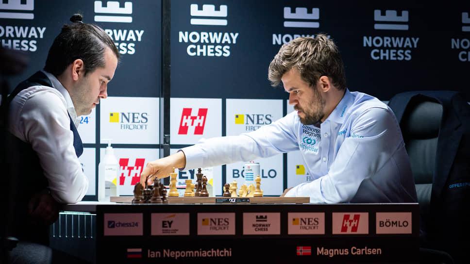Магнус Карлсен выиграл по-быстрому