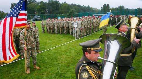 США с Украиной затрезубели в НАТО  / Начались украинско-американские учения Rapid Trident-2021