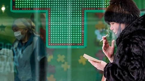 Курильщики сдают лекарства  / В аптеках снизились продажи средств для отказа от сигарет