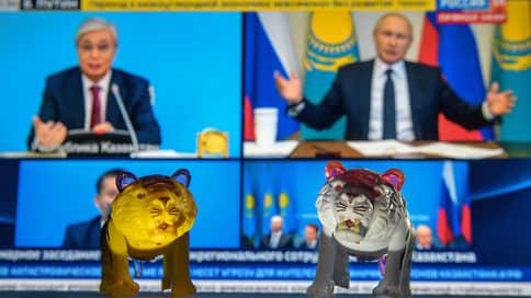 Тигры патриотов // Как Владимир Путин и Касым-Жомарт Токаев искали полосатых кошек в степях Казахстана