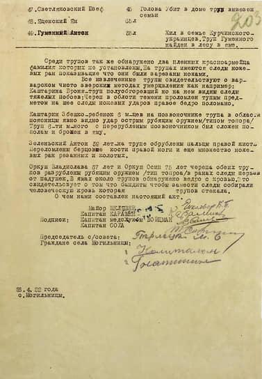 Документы из архива Министерства обороны России