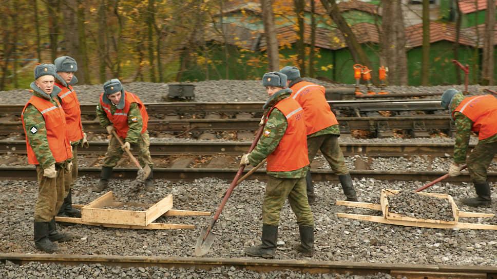 Железнодорожные войска готовятся расширять фронт работ на Восточном полигоне