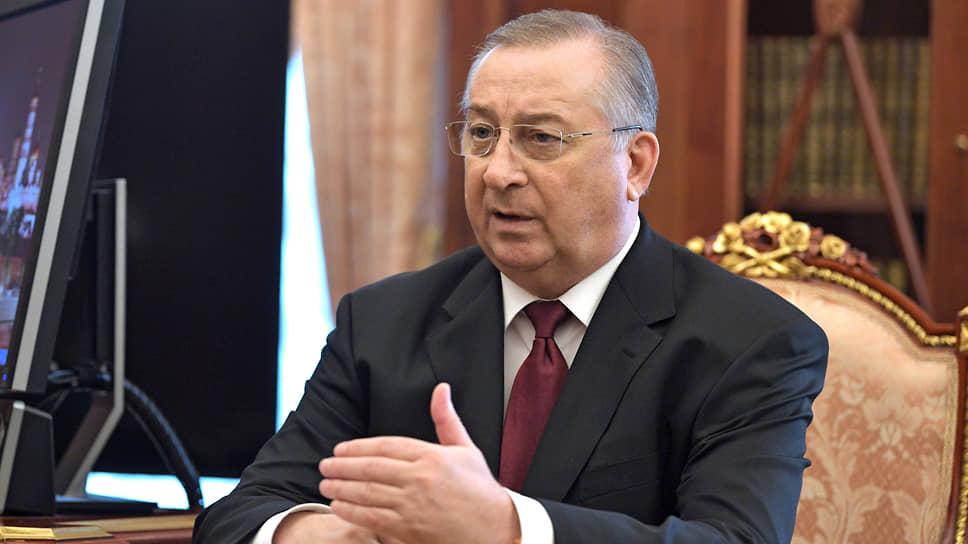 Глава «Транснефти» Николай Токарев