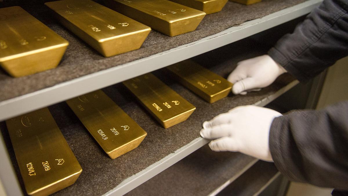 Долларизация золота