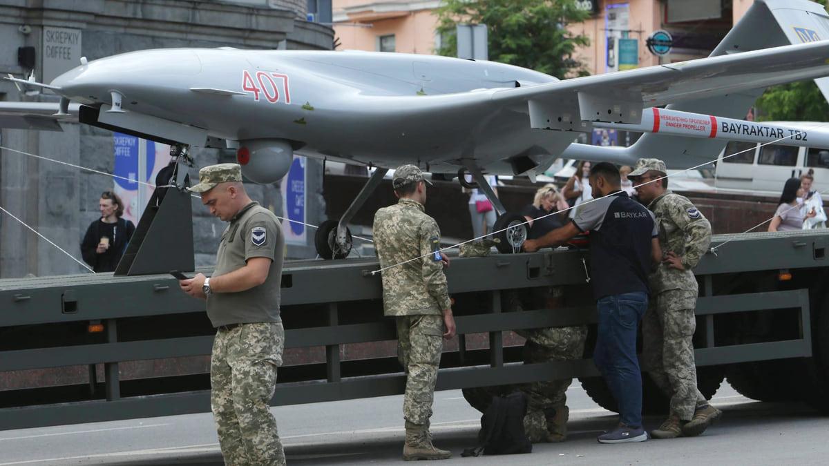 Донбасс становится беспилотной зоной