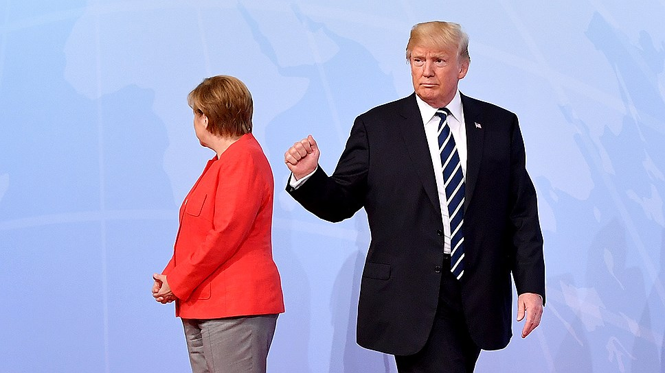 Во время последнего визита в США Ангеле Меркель и Дональду Трампу удалось договориться отнюдь не по всем вопросам