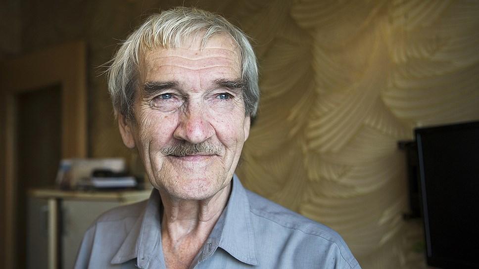 Станислав Петров. Фото сделано в августе 2015 года незадолго до смерти бывшего ракетчика