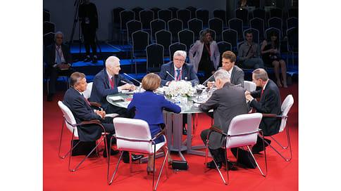 «Помогите нам помочь вам»  / Дискуссия о российско-немецких отношениях на ПМЭФ