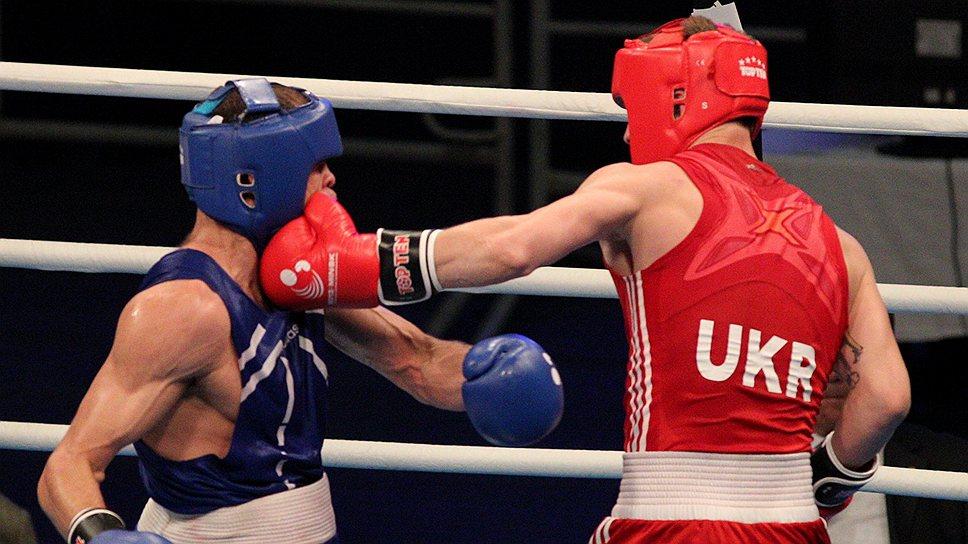 Павел Ищенко (справа) и сборная Украины были в ударе на чемпионате Европы среди любителей
