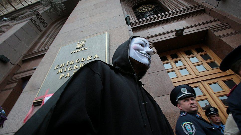 В МВД считают, что митингующим не надо прятаться и открыто заявлять о своих требованиях