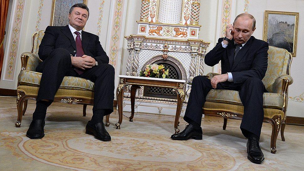 Президенту России Владимиру Путину предстоит найти веские аргументы на переговорах с украинским коллегой Виктором Януковичем