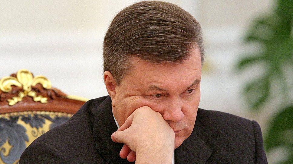 Президенту Виктору Януковичу предстоит серьезно подумать над ходатайством представителей Евросоюза