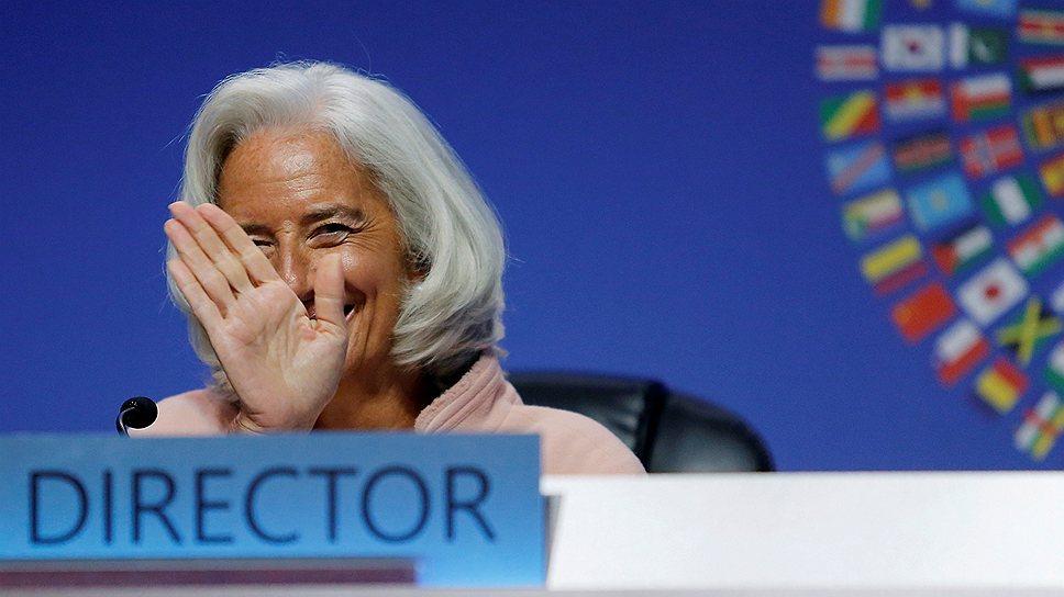 В Украине надеются, что МВФ и его руководитель Кристин Лагард будут более сговорчивы при обсуждении открытия новой кредитной линии