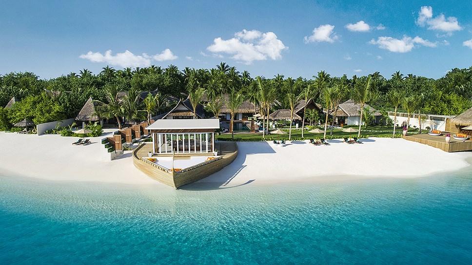 Jumeirah Vittaveli на Мальдивах открыл королевскую резиденцию ...